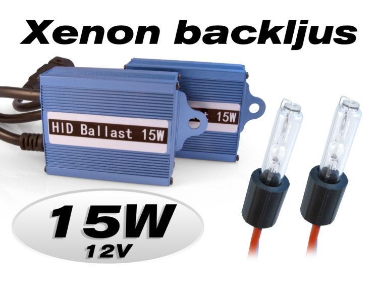 15W Xenon backljus, backlampor & DRL för 12 V
