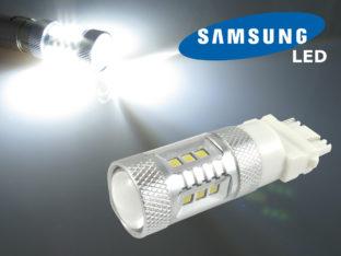 3157 P27/7W LED lampa med 16x Samsung SMD för 12 V & 24 V