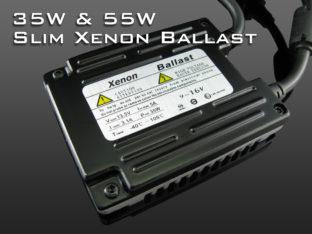 35 W & 55 W Professional xenonballast för 12 V