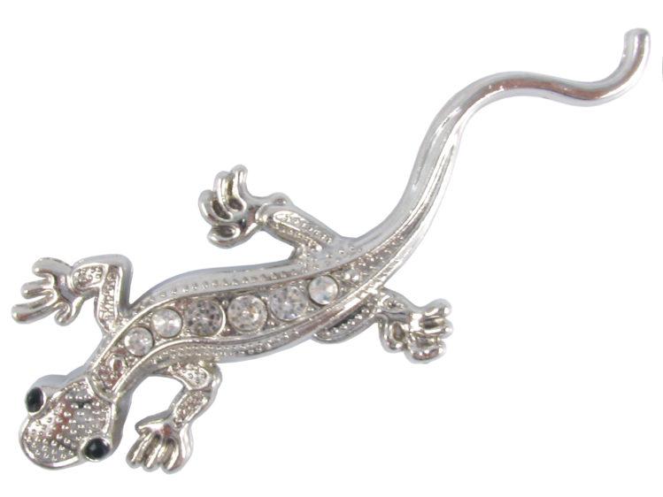 3D Geckoödla - Emblem