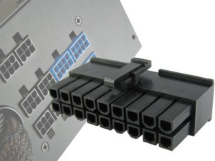 5-20 pin PSU kontakt till nätaggregat