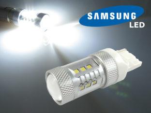 7440 W21W LED lampa med 16x Samsung SMD för 12 V & 24 V