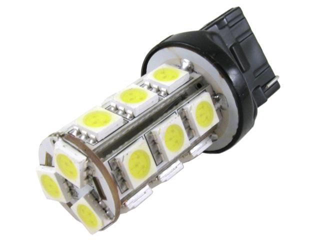 7443 W21/5W LED lampa med 18x SMD för 12 V