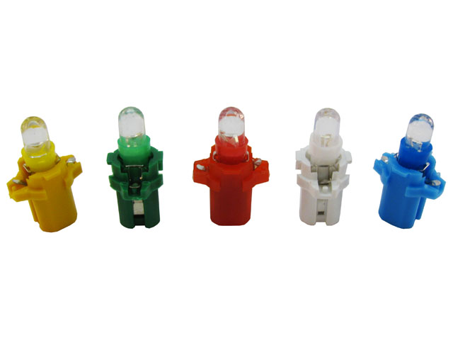 B8.3d LED lampa med 1x LED för 12 V