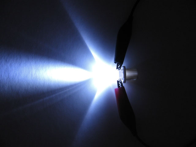B8.5d LED lampa med 1x LED för 12 V