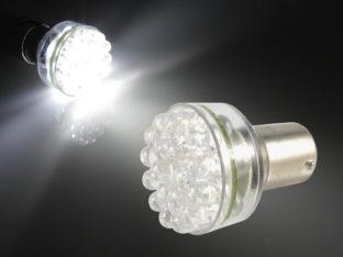 BA15s P21W LED lampa med 24x LED för 12 V