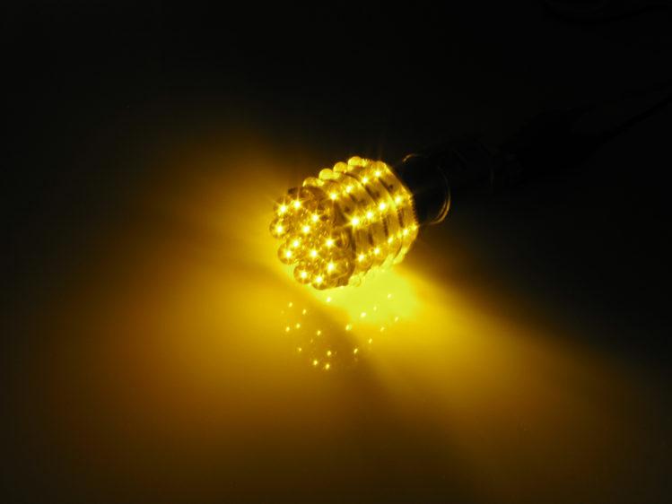 BA15s P21W LED Lampa med 48x LED för 12 V