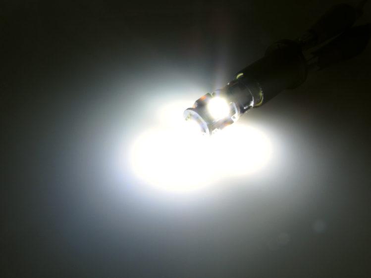 BA9s T4W CANbus LED lampa med 5x 5050 SMD för 12 V