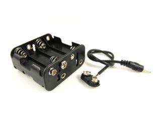 Batterihållare för 8 st AA batterier - 12 V