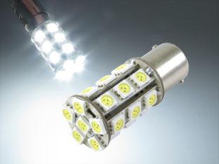 BAY15d P21/5W LED lampa med 24x 5050 SMD för 12 V