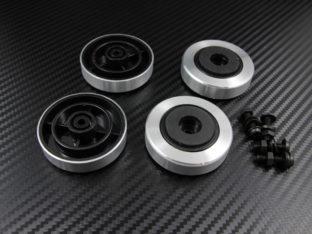 Datorfötter i aluminium