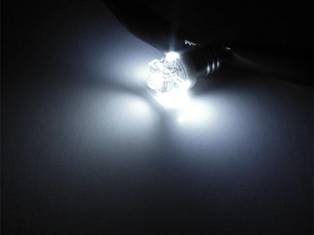 E10 Skuvbas LED lampa med 5x LED för 12 V
