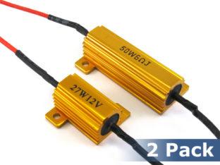 Effektmotstånd / resistor för 12 V