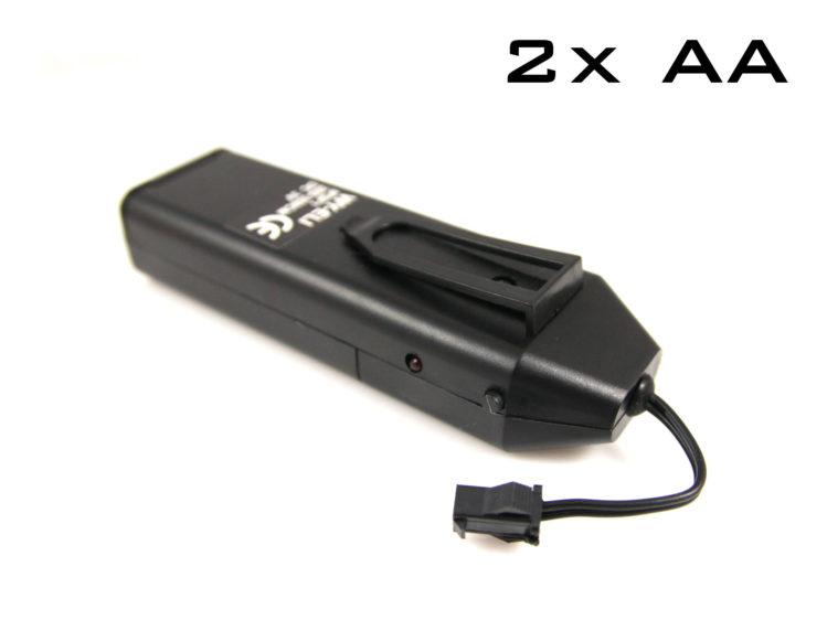 EL wire drivdon med batteri