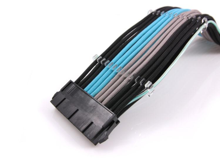 EL-wire kabelkammar för PC