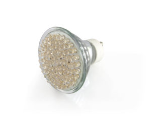 GU10 LED Spotlight lampa med 78x LED för 240 V