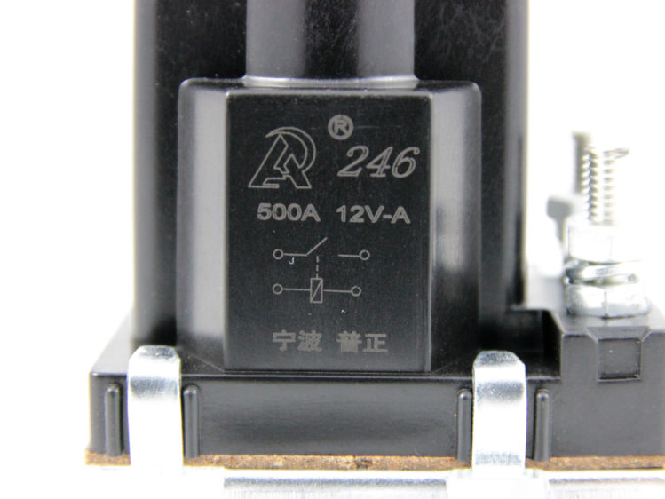 Kontaktor för 12 V & 24 V, 500 A