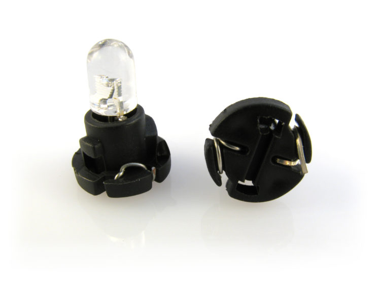 Neo wedge 6 mm LED lampa med 1x LED för 12 V