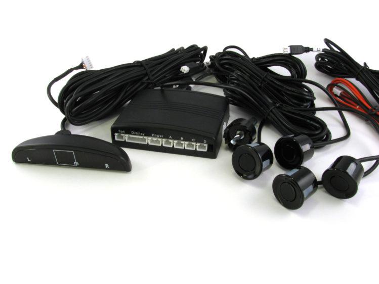 Parkeringssensor - backsensor kit med LED display för 12 V