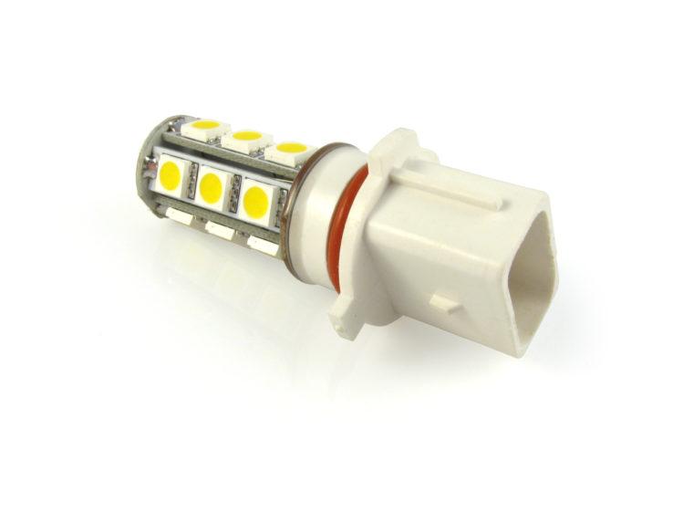 PG18.5d-1 P13W LED lampa med 18x 5050 SMD för 12 V