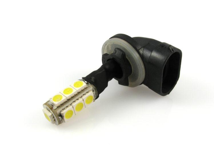 PGJ13 881 H27W/2 LED lampa med 13x 5050 SMD för 12 V