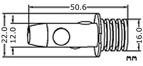PK22s H3 LED lampa med 4x hög effekts LED för 12 V & 24 V