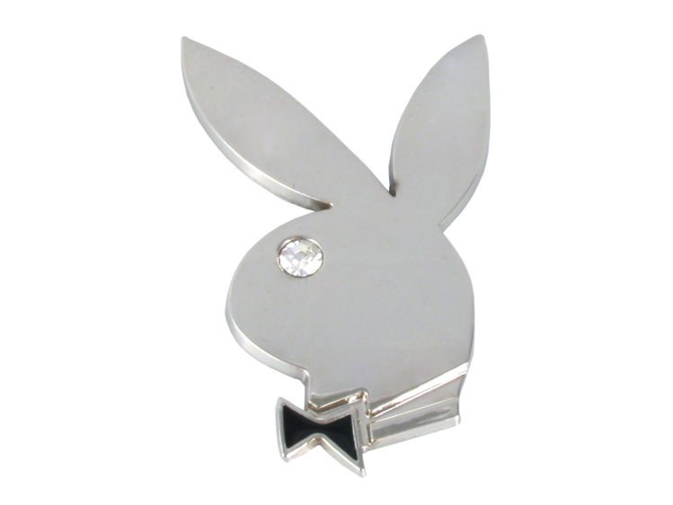 Playboy kanin i krom - Emblem