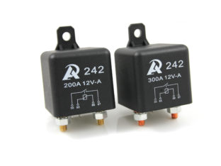 Relä för 12 V, 200 A & 300 A