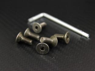 Skruvsats till rattnav med 6 st M5×12 mm