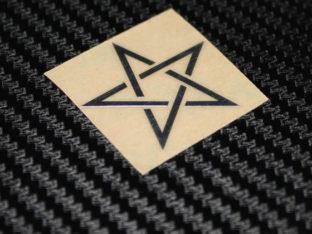 Stjärna - Klistermärke