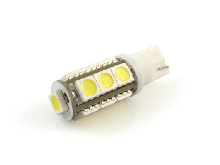 T10 W5W LED lampa med 13x 5050 SMD för 12 V