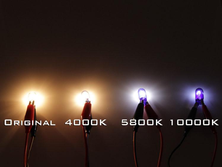 T10 W5W Xenonlook lampa