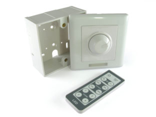 Väggmonterad LED dimmer, PWM för 12 V & 24 V