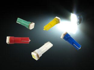 W2.3W T5 LED lampa med 1x 5050 SMD för 12 V & 24 V