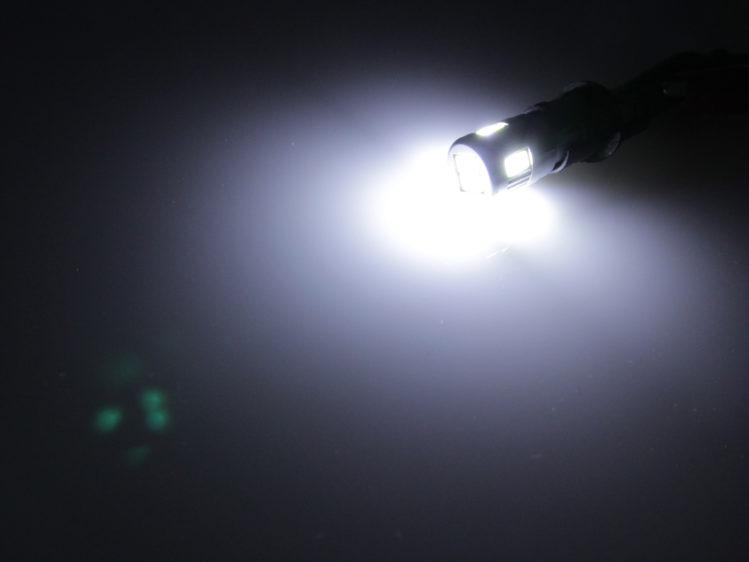 W5W T10 LED lampa med 6x 5630 SMD för 12 V & 24 V