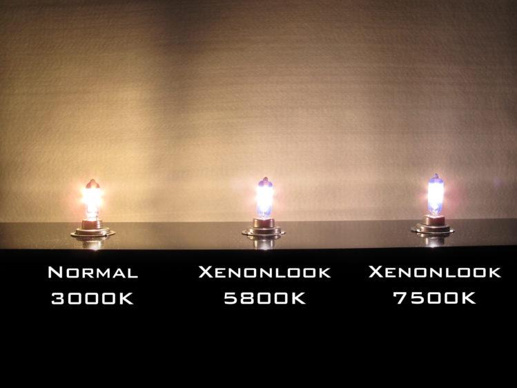 Xenonlook lampor för 12 V & 24 V