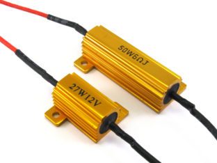 LED Effektmotstånd & Problemlösare