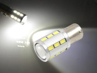 BA15s P21W LED lampa med 5630 SMD och CREE LED för 12 V & 24 V