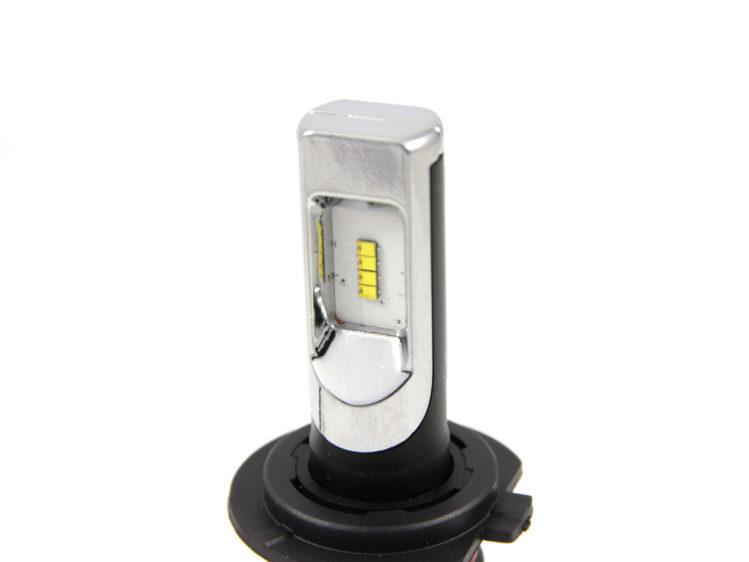 Zoomad LED strålkastarlampa