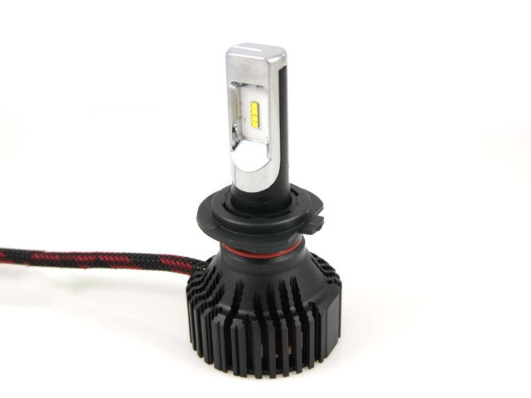 Enkel LED strålkastarlampa