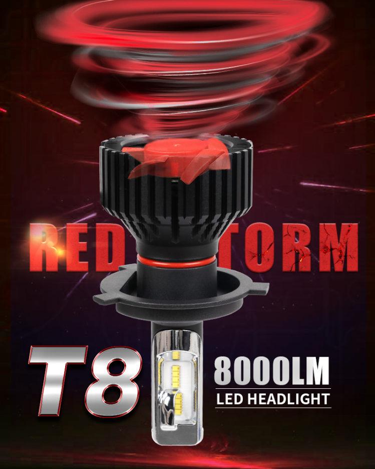 LED Strålkastarlampor STORM